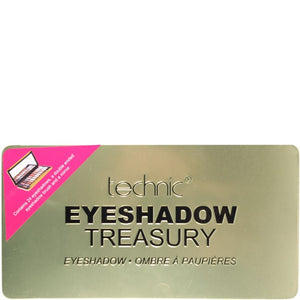 Technic Treasury Eyeshadow Gold Palette 24 Shade Tin