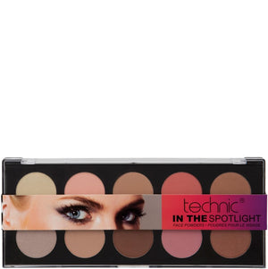 Technic In The Spotlight Pressed Powder Palette