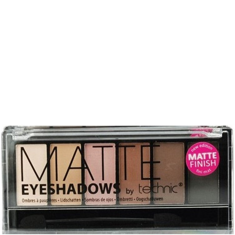 Technic Matte Natural 6 Colour Eyeshadow Palette