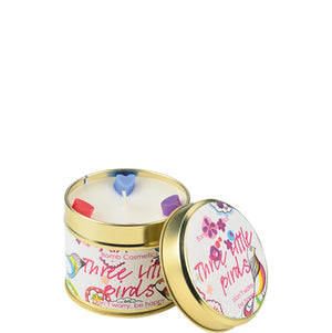 Three Little Birds Tinned Candle