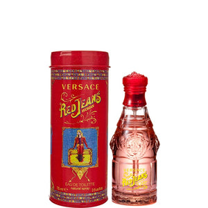 Versace Red Jeans Woman Eau de Toilette for Women 75ml