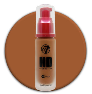 W7 HD Foundation Caramel
