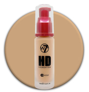W7 HD Foundation Creme Brulee