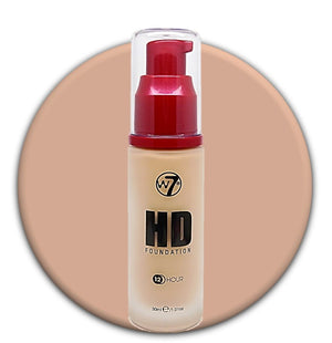 W7 HD Foundation Early Tan