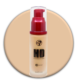 W7 HD Foundation Fresh Beige