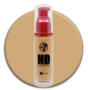 W7 HD Foundation Golden