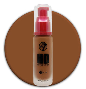 W7 HD Foundation Hazelnut
