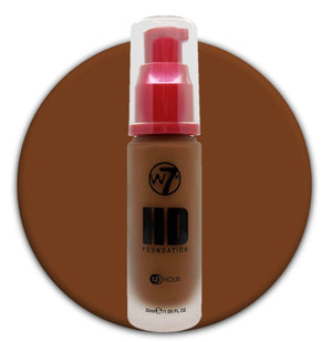 W7 HD Foundation Hot Chocolate