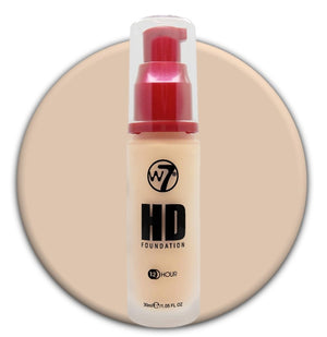 W7 HD Foundation Ivory