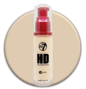 W7 HD Foundation Porcelain