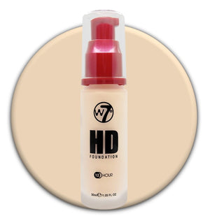 W7 HD Foundation Rose Ivory