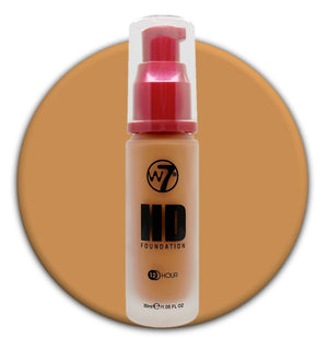 W7 HD Foundation Suede