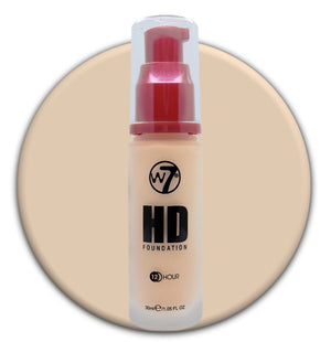 W7 HD Foundation Vanilla