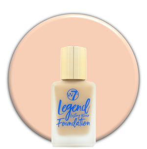 Sand Beige W7 Legend Foundation