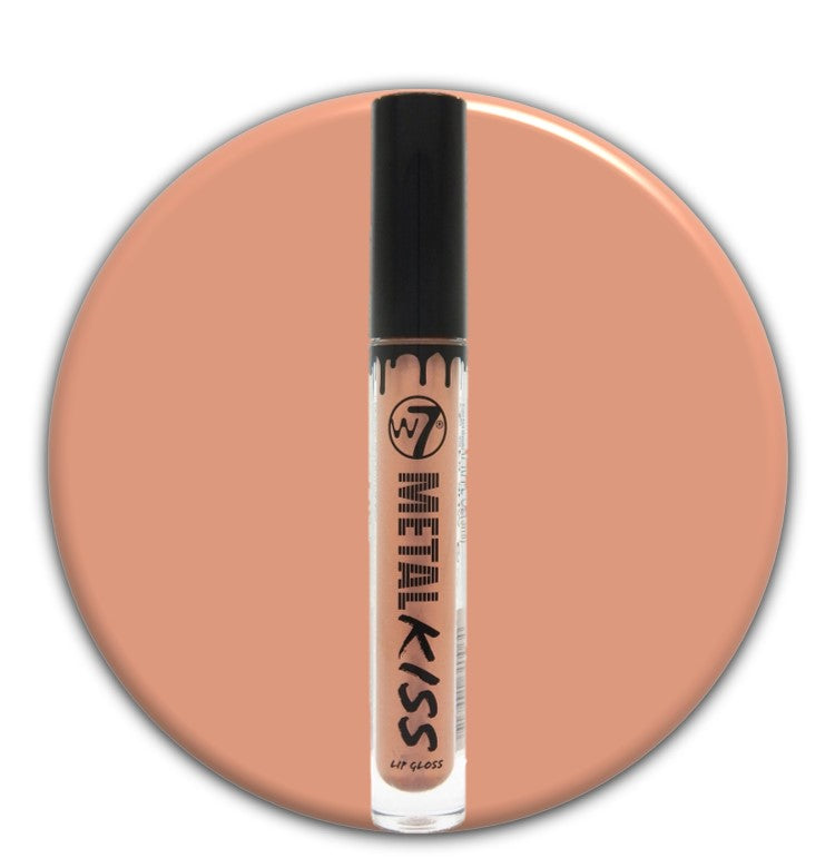 W7 Metal Kiss Lip Gloss