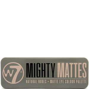 W7 Mighty Mattes Eyeshadow Matte Palette