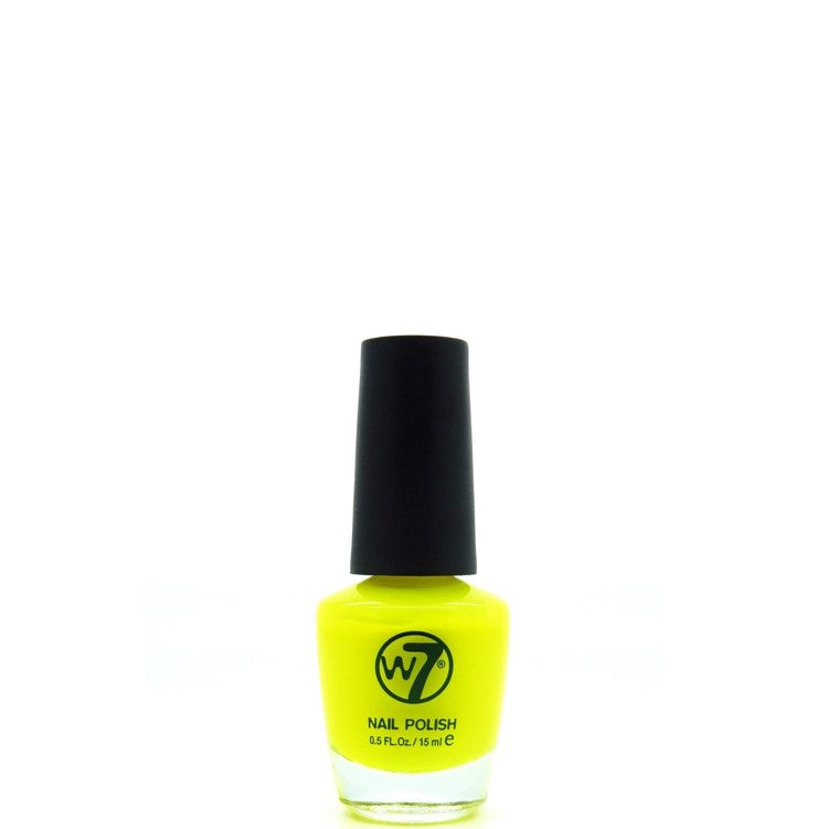 W7 Nail Polish 16 Fluorescent Yellow