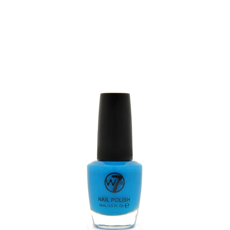 17 Fluorescent Blue W7 Nail Polish