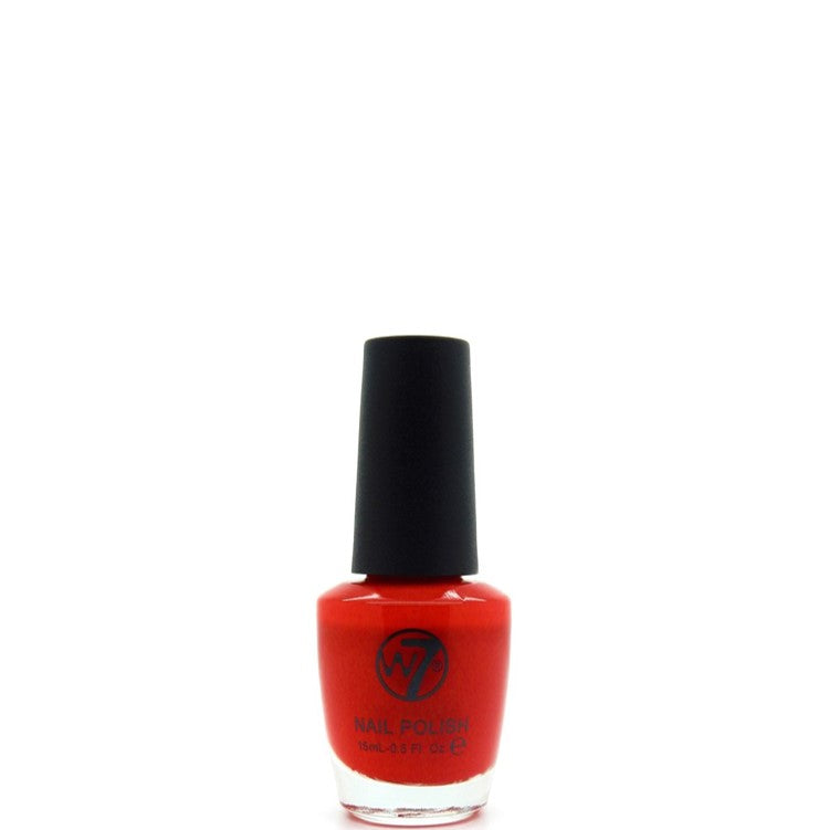 25 Pillar Box Red W7 Nail Polish