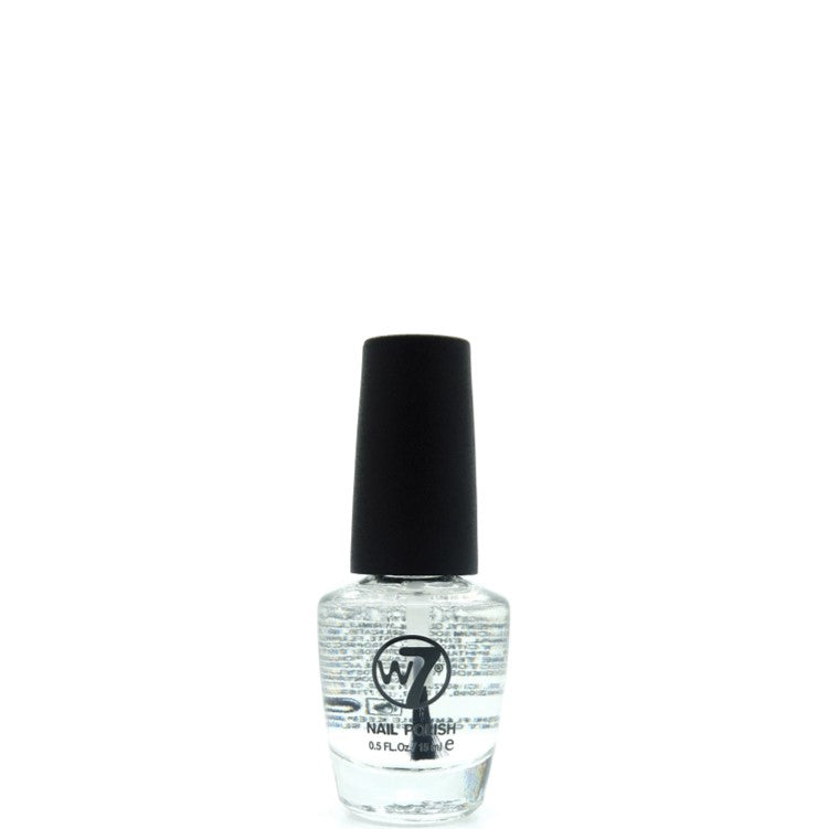 W7 Nail Polish 33 Diamond Top Coat 15ml