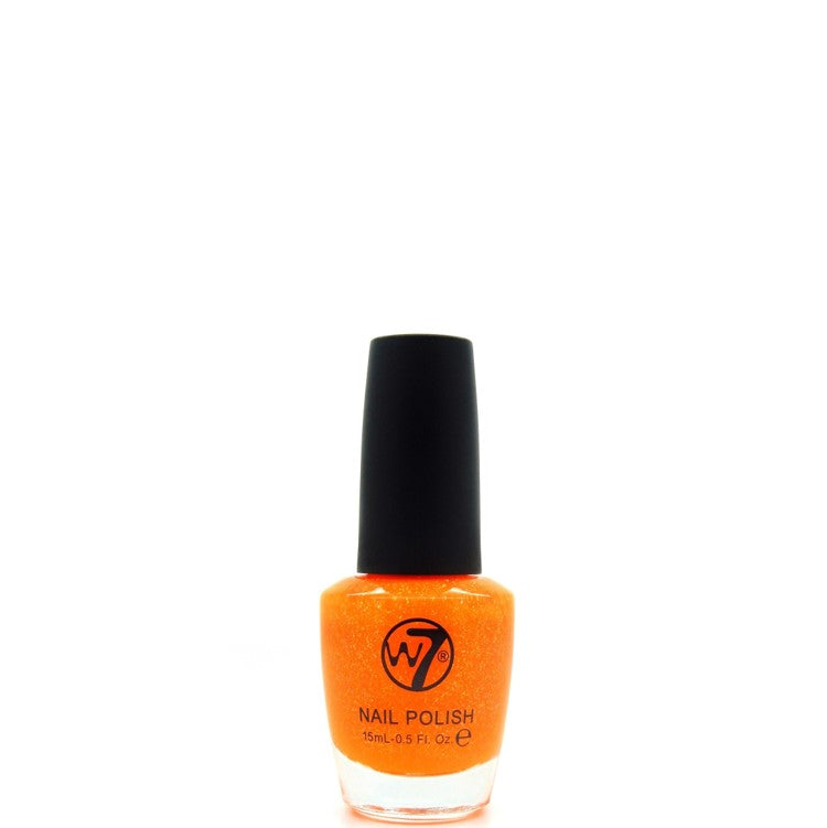 9 Orange Dazzle W7 Nail Polish
