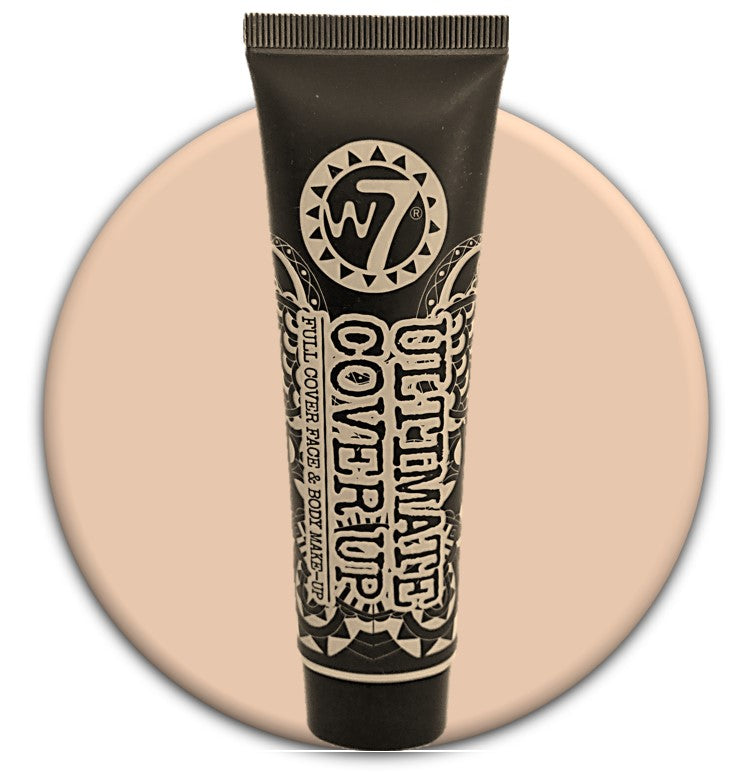 W7 Ultimate Cover Up Foundation Light No 1