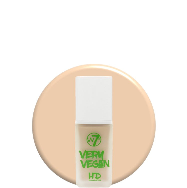 W7 Very Vegan HD Foundation