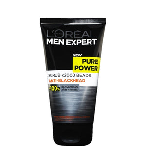 L'Oreal Men Expert Pure Power Anti Blackhead Scrub 150ml