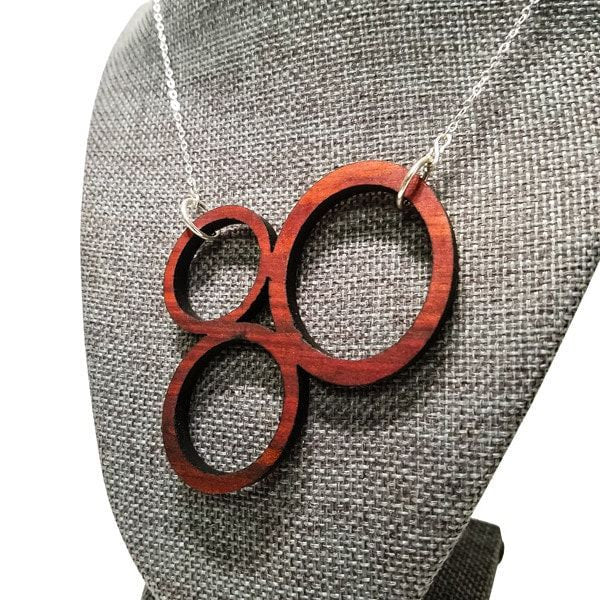 necklace - Circle Pendant -  - District 31 - 3
