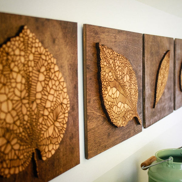 Wall Art - Leaf Panel Set -  - District 31 - 1