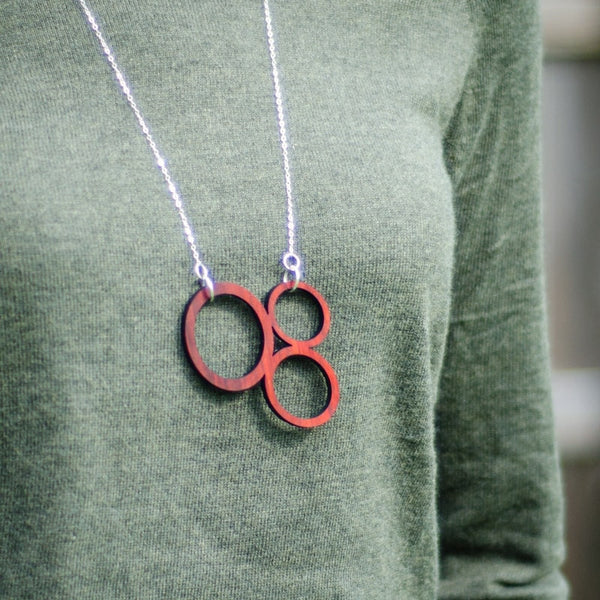 necklace - Circle Pendant -  - District 31 - 1