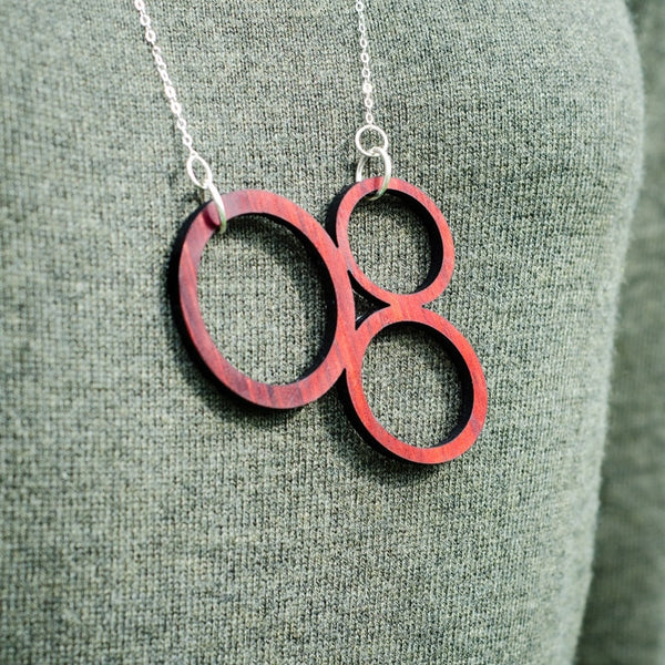 necklace - Circle Pendant -  - District 31 - 2