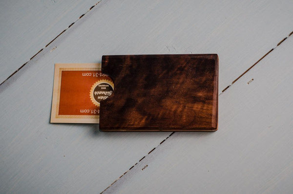 Accessories - Wooden Business Card Case -  - District 31