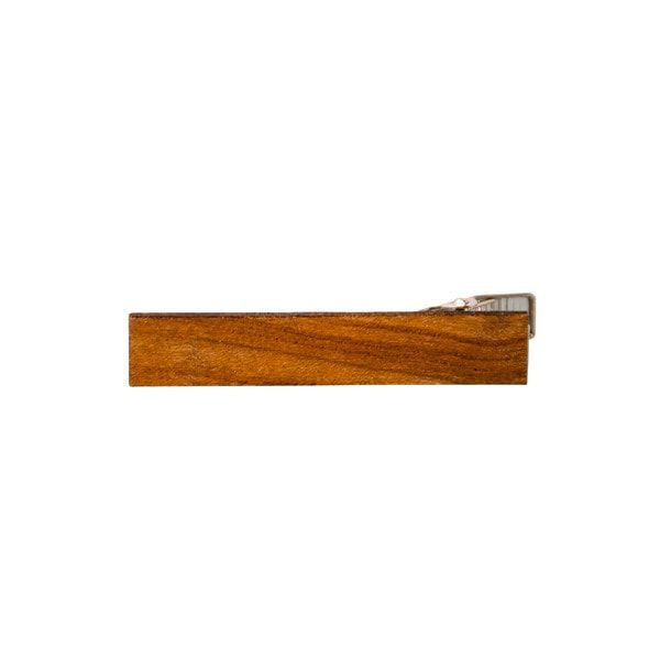 Tie bar - Exotic Wooden Tie Bar - Canarywood - District 31 - 4