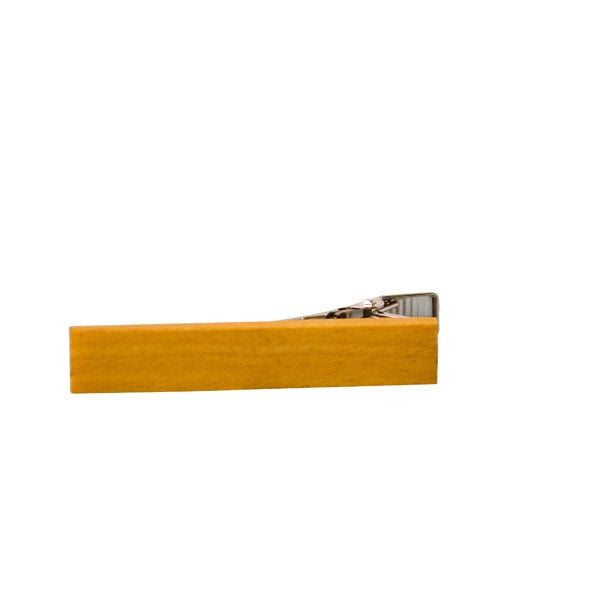 Tie bar - Exotic Wooden Tie Bar - Yellowheart - District 31 - 6