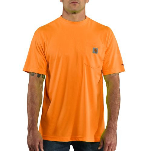 Carhartt 100493 Men's High-Visibility Force Color Enhanced Short Sleeve Tee