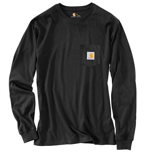"Carhartt Men's Workwear Graphic ""C"" L/S Tee-Closeout"