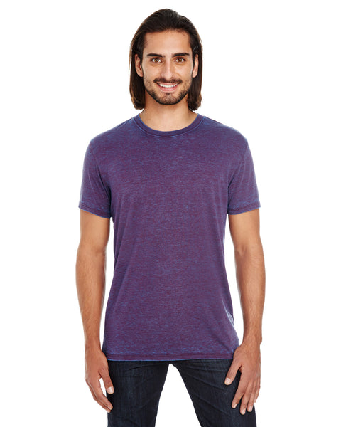 Threadfast Apparel Unisex Cross Dye Short-Sleeve T-Shirt