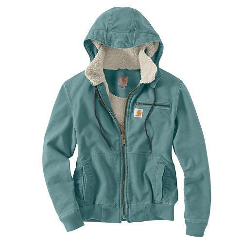 Carhartt Women's Sherpa Lined Weathered Duck Jacket