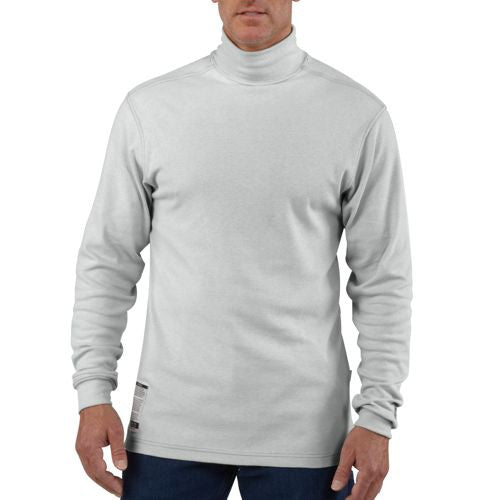 Carhartt Men's Flame-Resistant Long-Sleeve Mock Turtleneck-Closeout