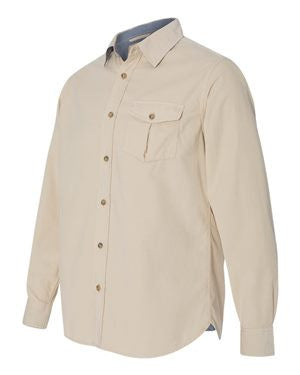 Weatherproof - Vintage Mini Cord Long Sleeve Shirt - 154867
