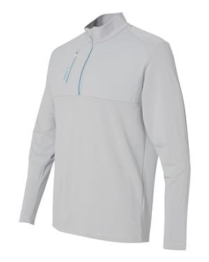 Adidas - Golf Mixed Media Quarter-Zip Jacket - A195
