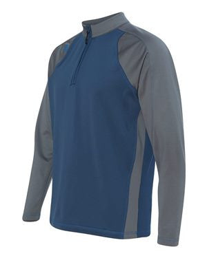 Adidas - Climawarm+® Quarter-Zip Colorblocked Training Top - A276