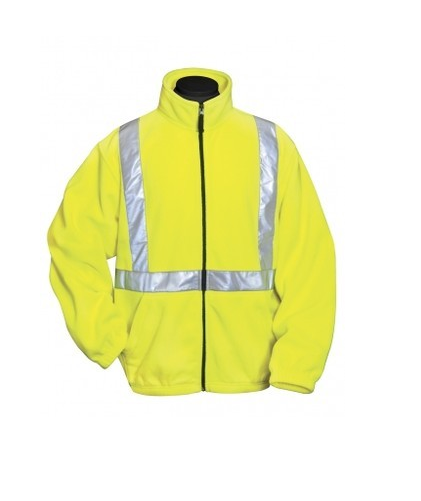 Tri-Mountain Reflective Safety Color Fleece Jacket