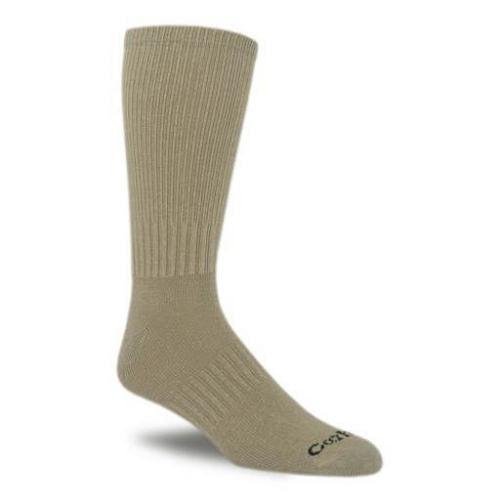 CARHARTT MEN'S WORK WEAR FLAT-KNIT CREW SOCK -3 Pack