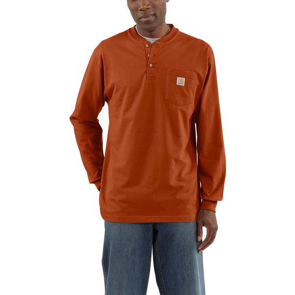 Carhartt  Long Sleeve Workwear Henley