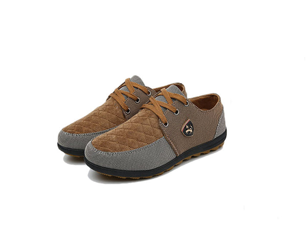 Men's Canvas Comfort Slip on Shoes