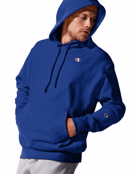 "CHAMPION LIFE MEN'S REVERSE WEAVE GRAPHIC PULLOVER HOODIE ""C"" LOGO"