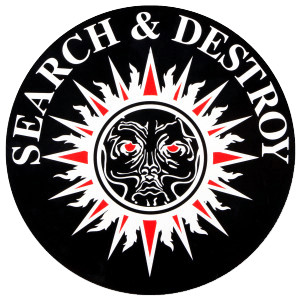 Henry Rollins- Search & Destroy Car Magnet