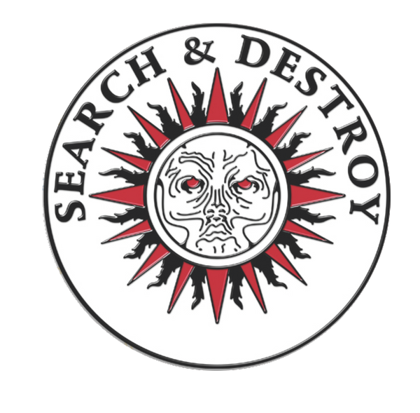 Henry Rollins - Search & Destroy Pin